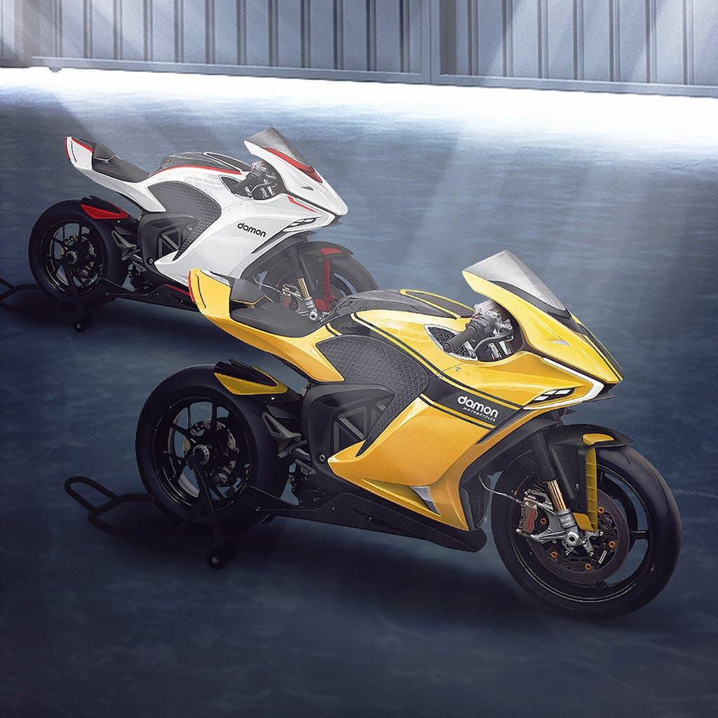 Damon Hypersport  Il futuro a due ruote