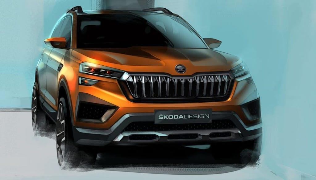 Škoda Vision In Il SUV compatto progettato per l'India