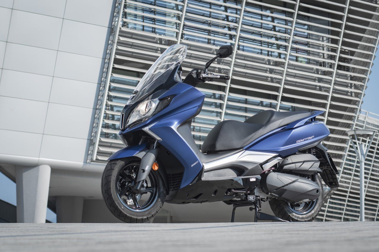 Kymco DownTown 350 TCS Migliori scooter 350