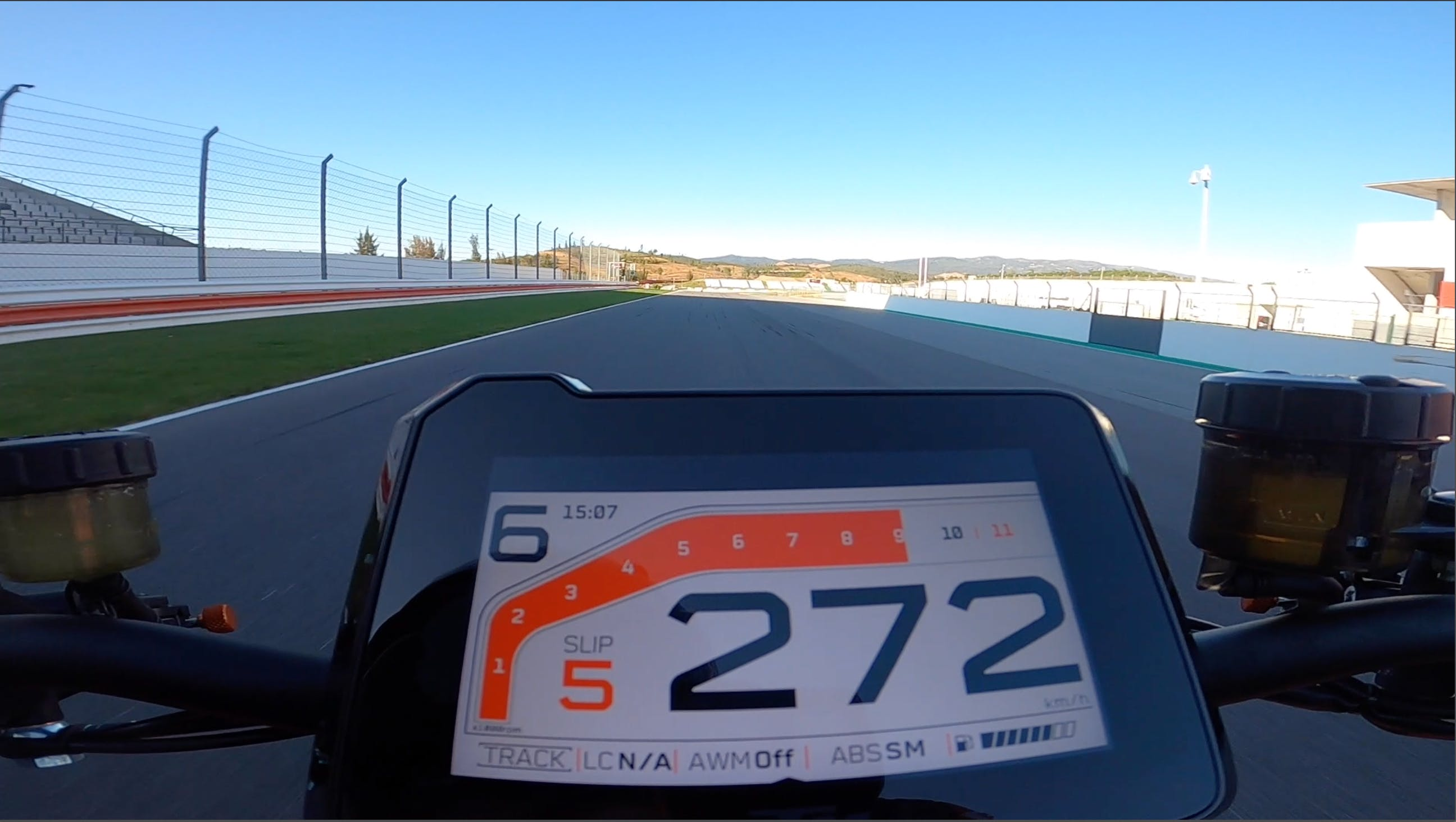 KTM 1290 Super Duke R ON Board a 272