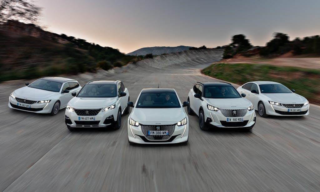 Peugeot 2020  e-voluzione elettrica