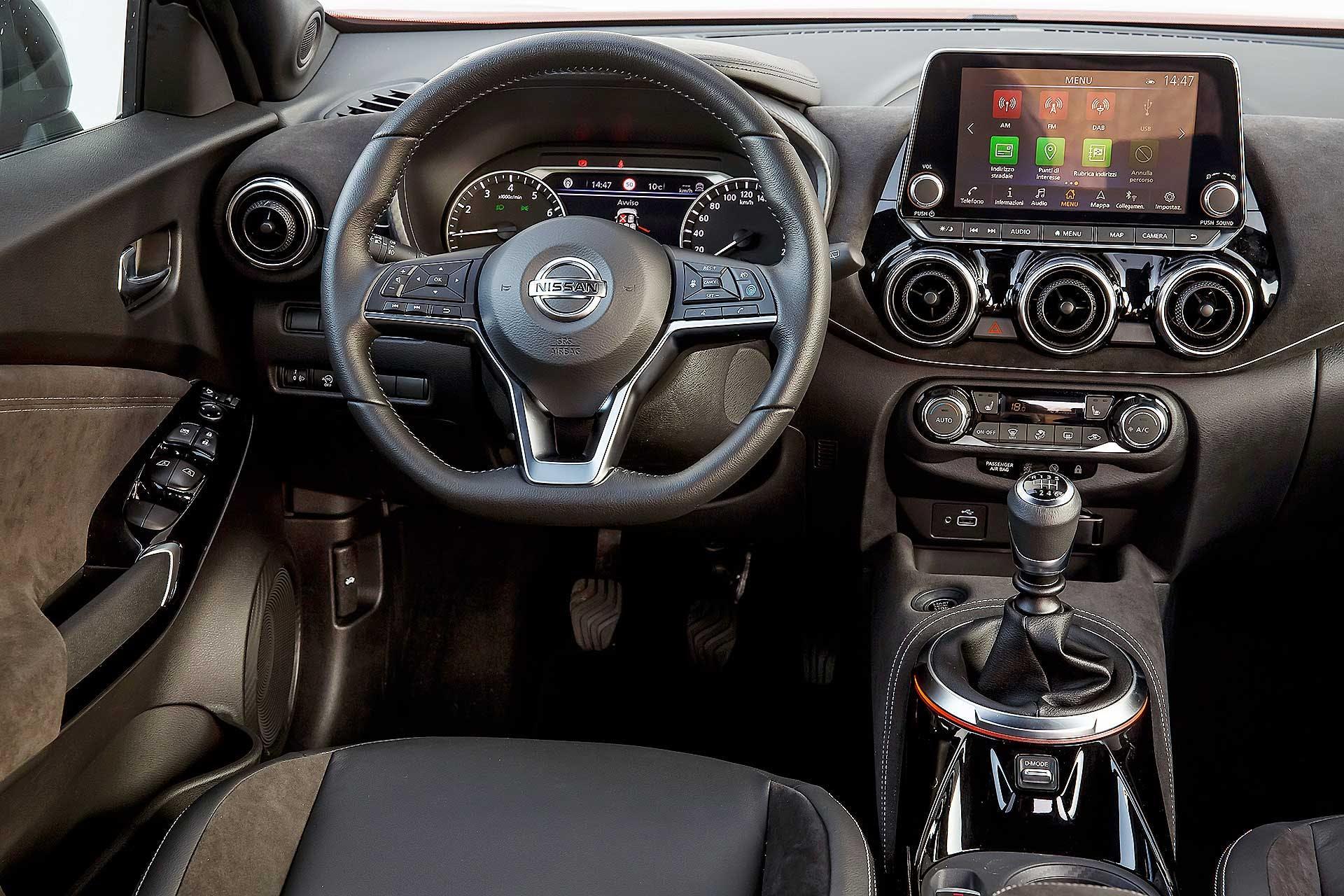 Nissan Juke 2020 interni