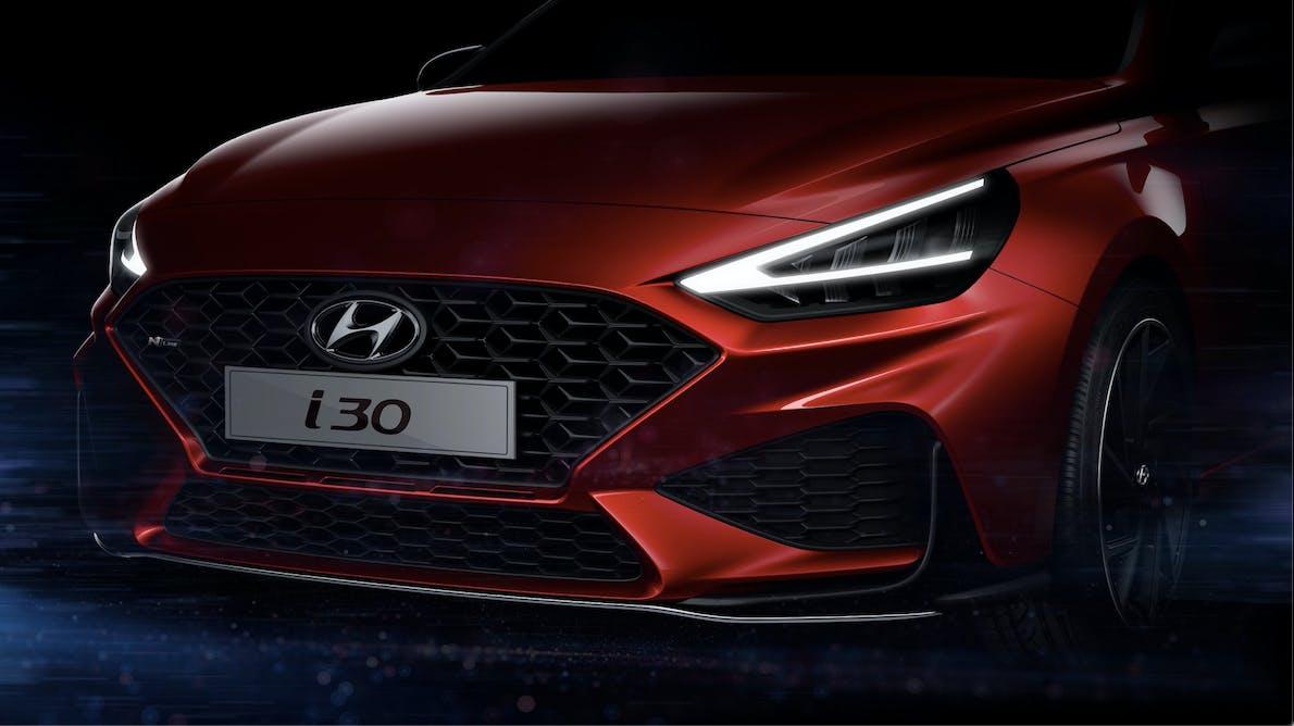Hyundai i30 restyling teaser 2