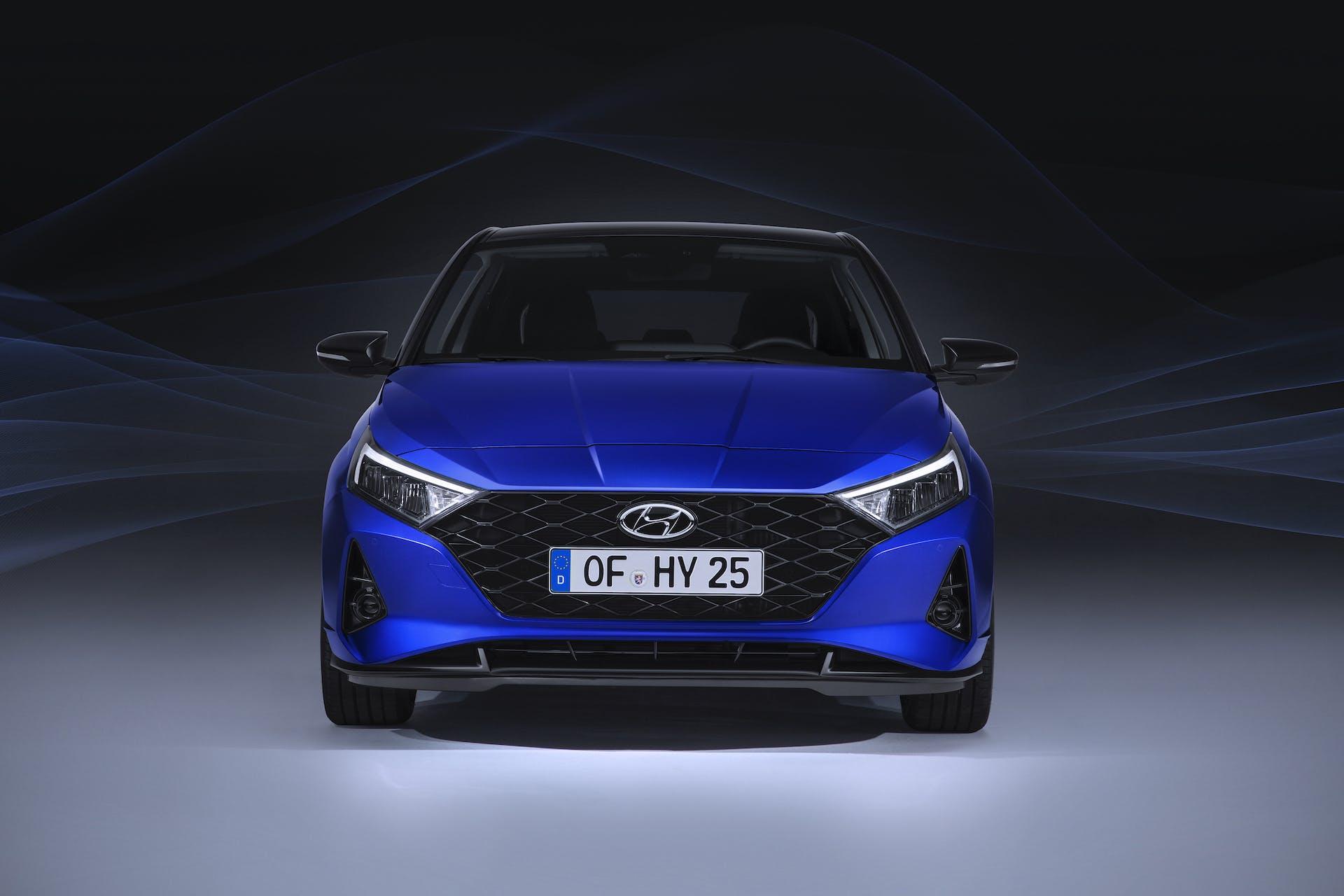 Nuova Hyundai i20 vista frontale