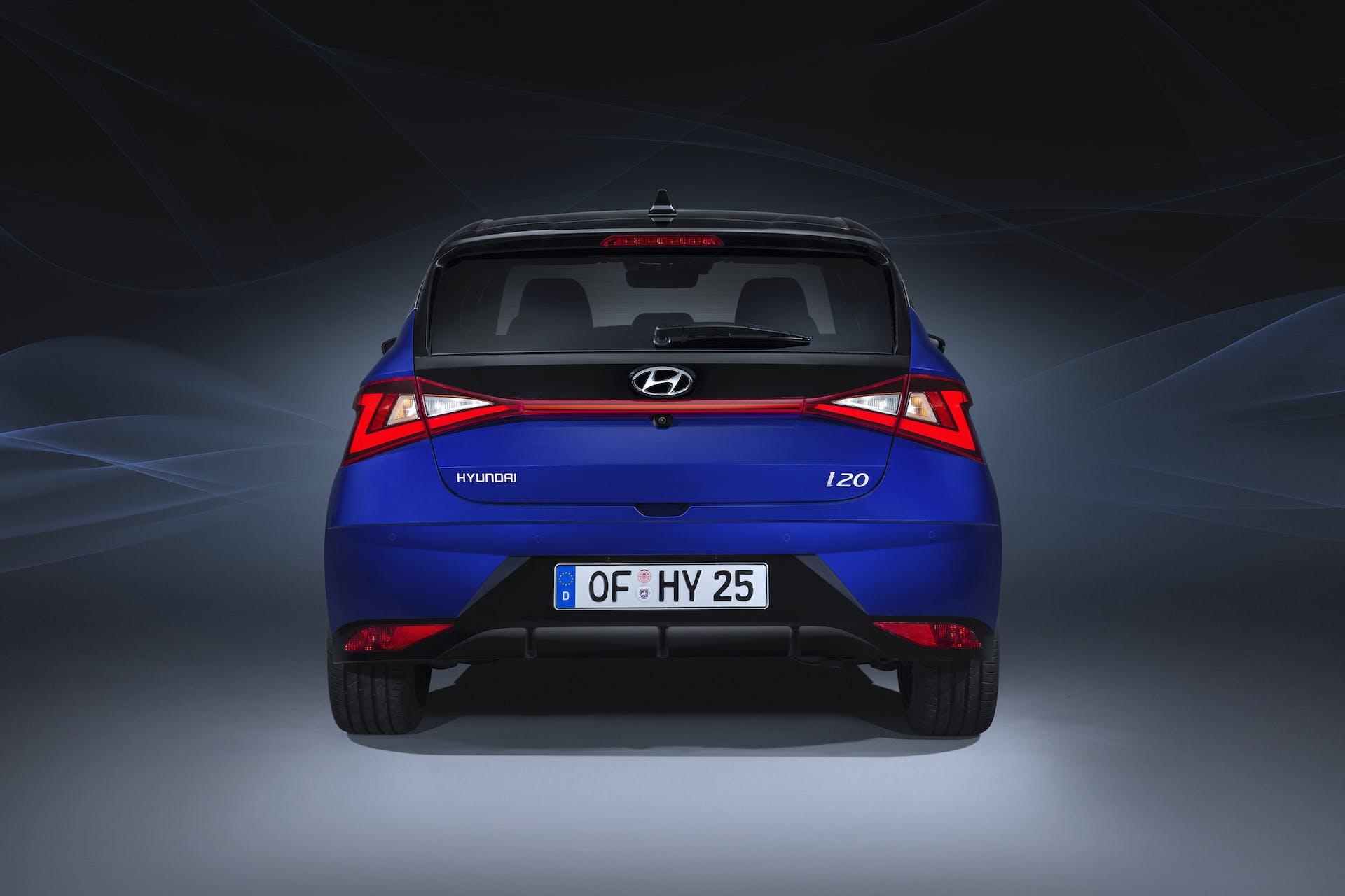 Nuova Hyundai i20 vista posteriore