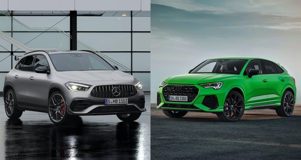 Mercedes-AMG GLA 45 S 4Matic+ vs Audi RSQ3 Sportback. Il confronto