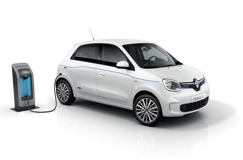 Renault Twingo Z.E. la piccola elettrica