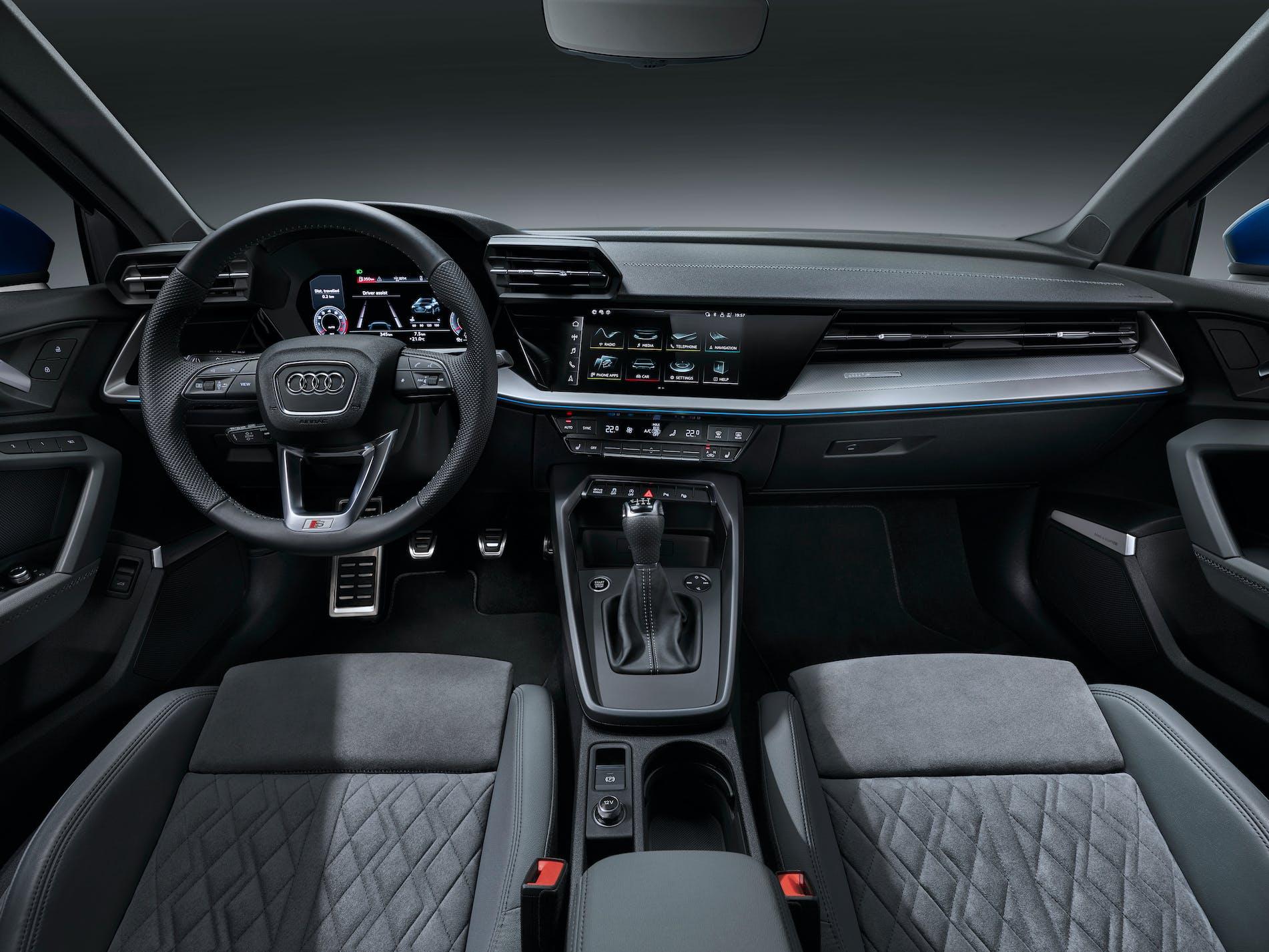 Nuova Audi A3 Sportback plancia