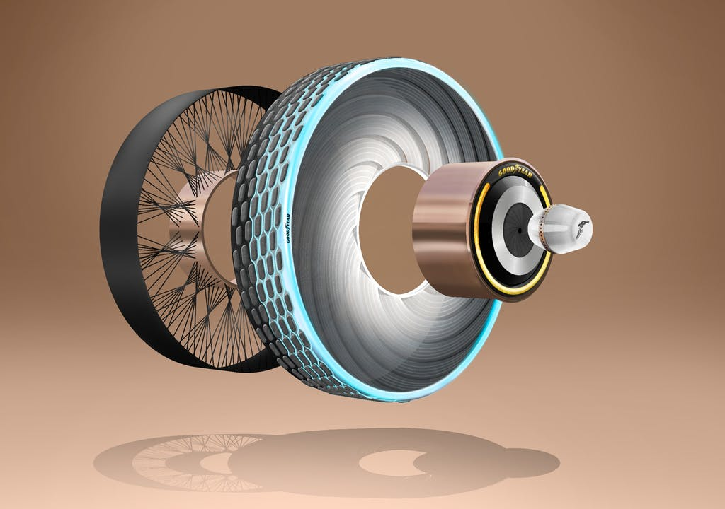 """Goodyear reCharge, il pneumatico """"ricaricabile"""""""