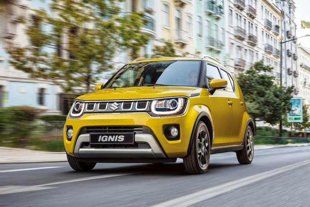 Suzuki Ignis hybrid  Ancora più ecologica