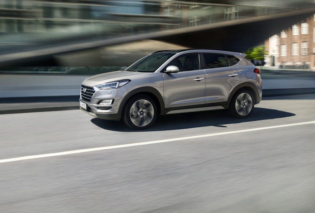 Hyundai Tucson  nuovo allestimento XLine