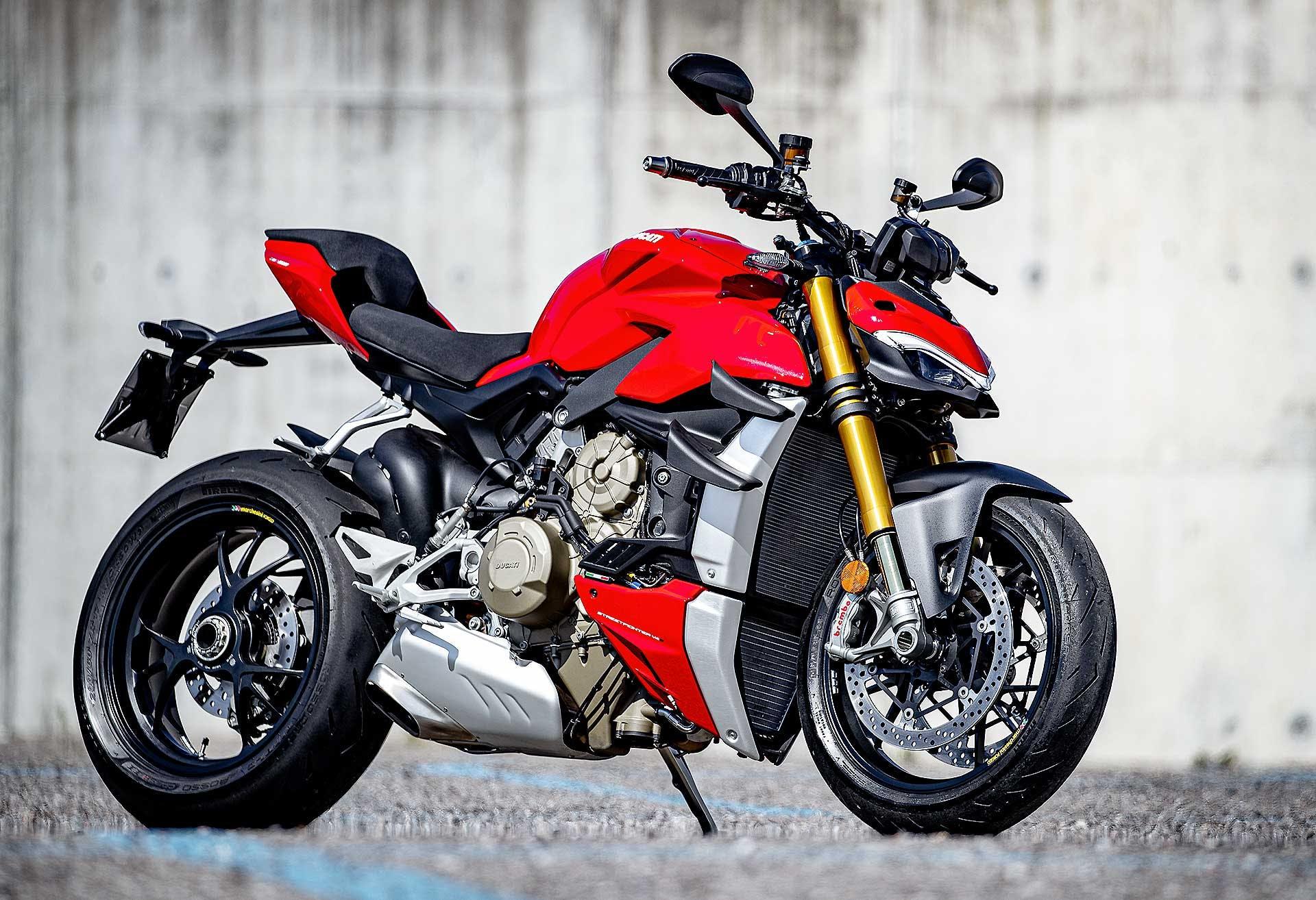 Ducati Streetfighter V4 S rossa