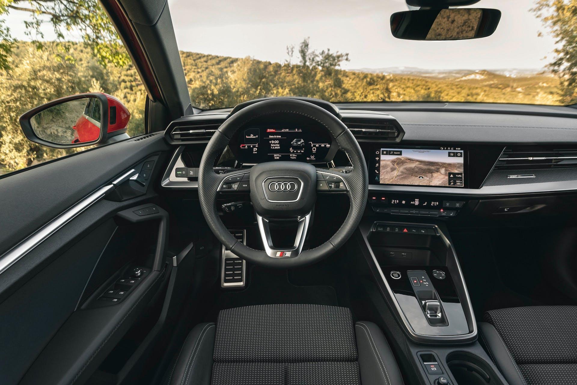 Audi A3 Sportback plancia