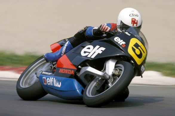 ELF 500 moto con monobraccio