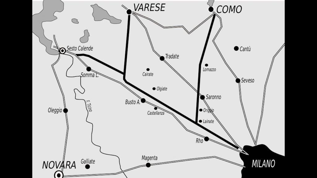 Eccellenze italiane, la prima autostrada al mondo è la Milano-Varese