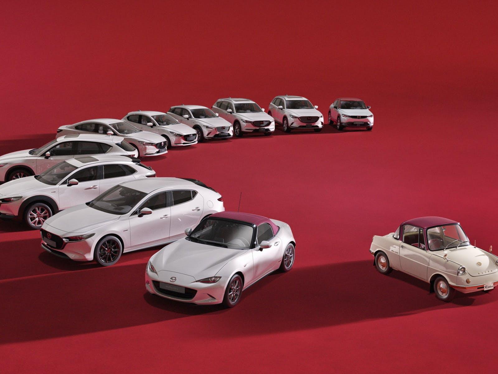 Mazda 100th anniversary 1920-2020 edizione speciale