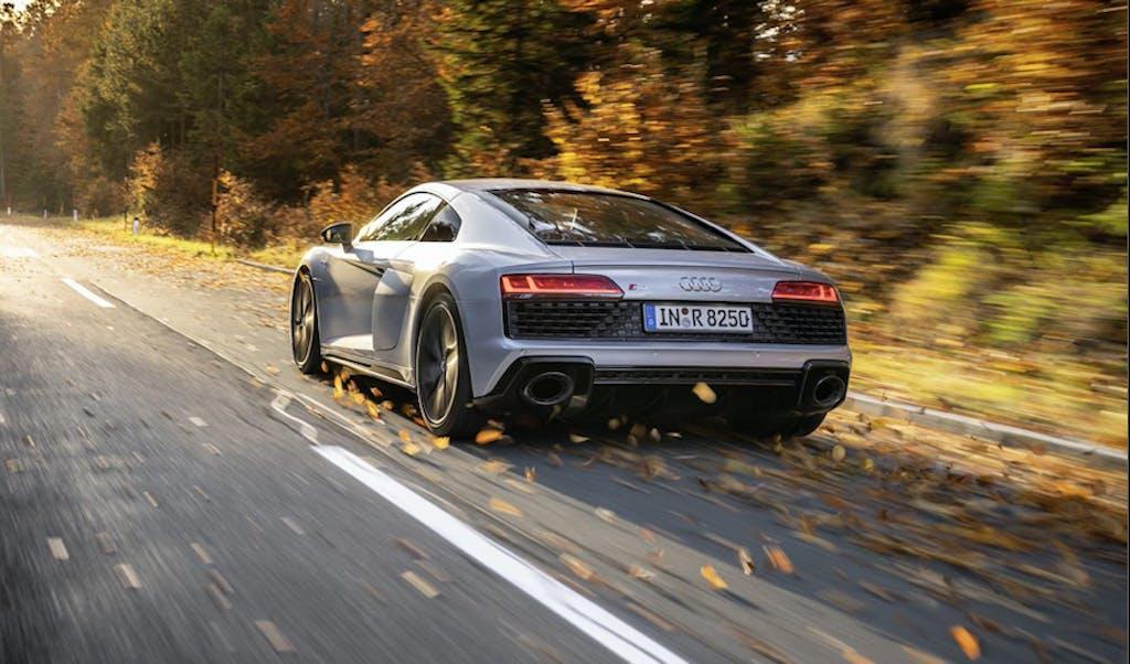 Audi R8 V10 RWD, viva la trazione posteriore