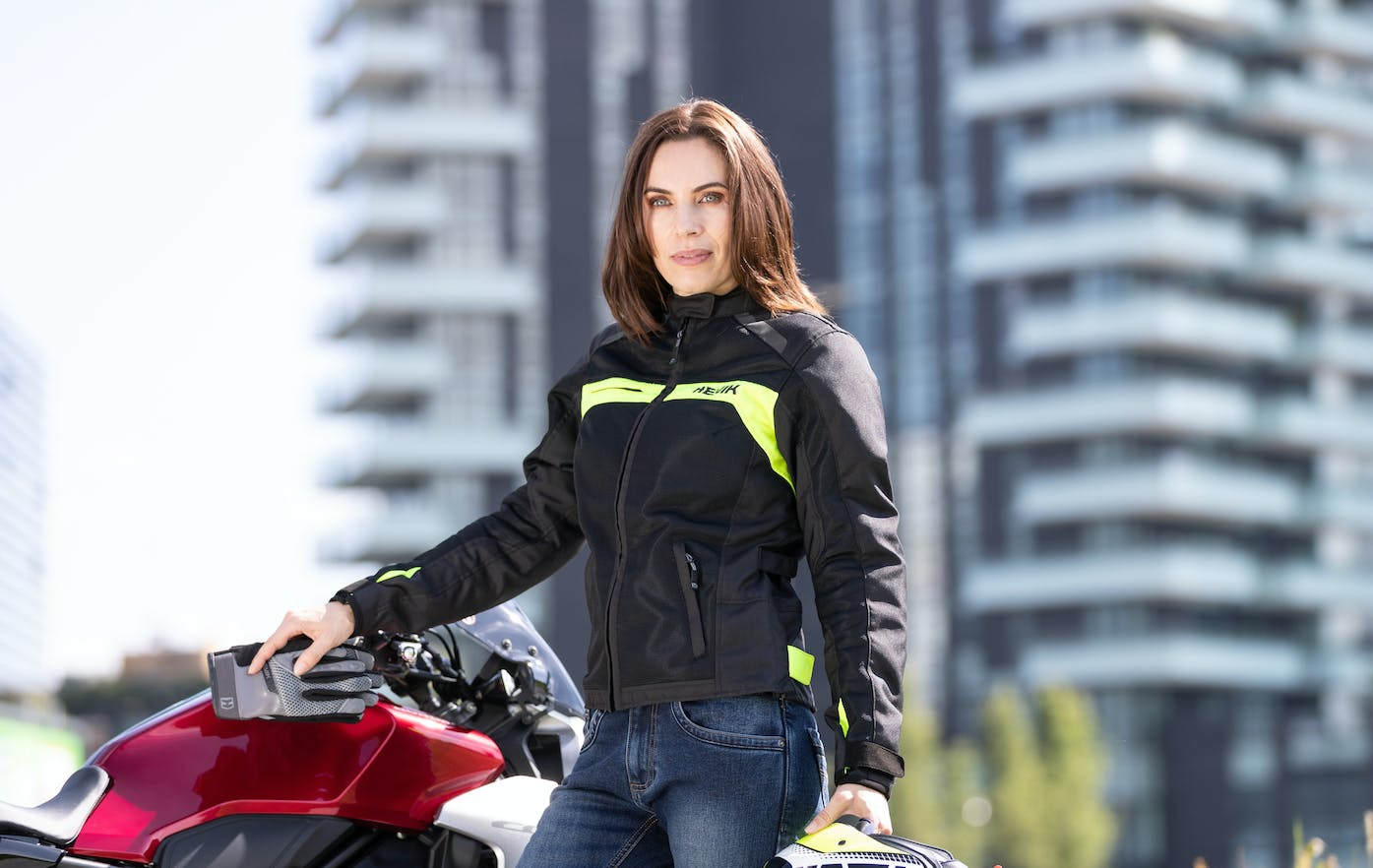 Hevik Scirocco Lady - Le migliori giacche estive da moto da donna