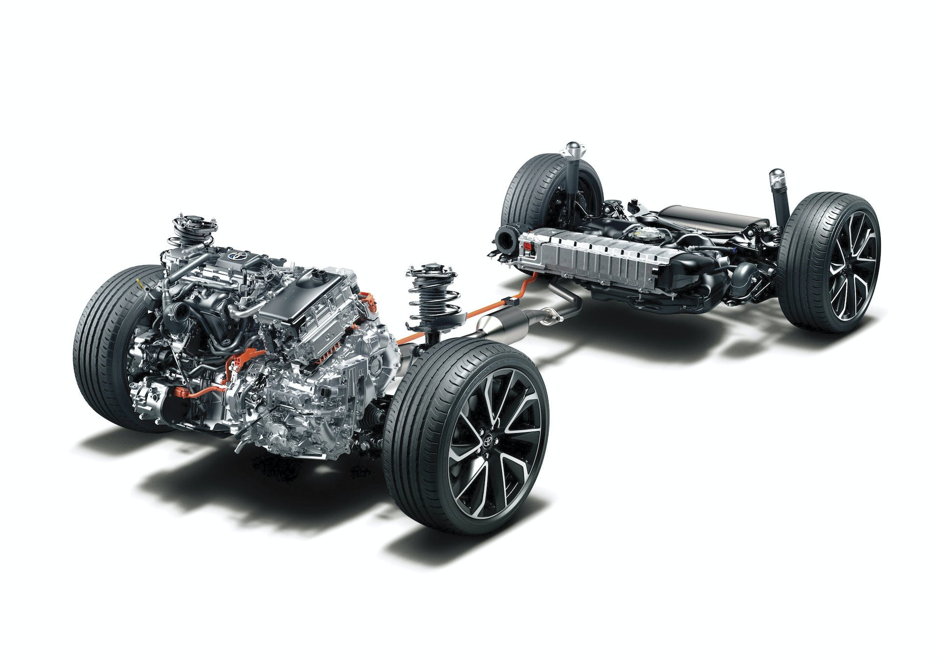 Toyota Corolla schema ibrido