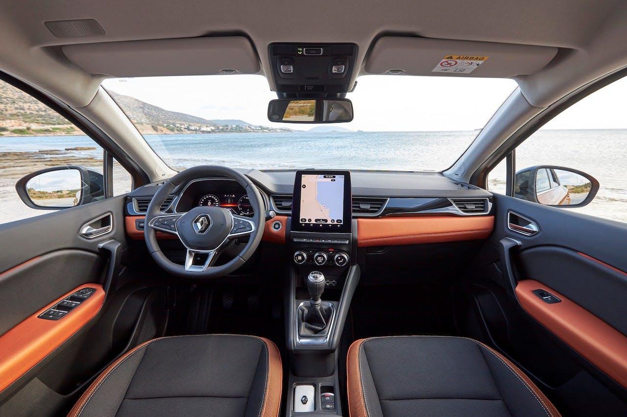 Nuova Renault Captur plancia