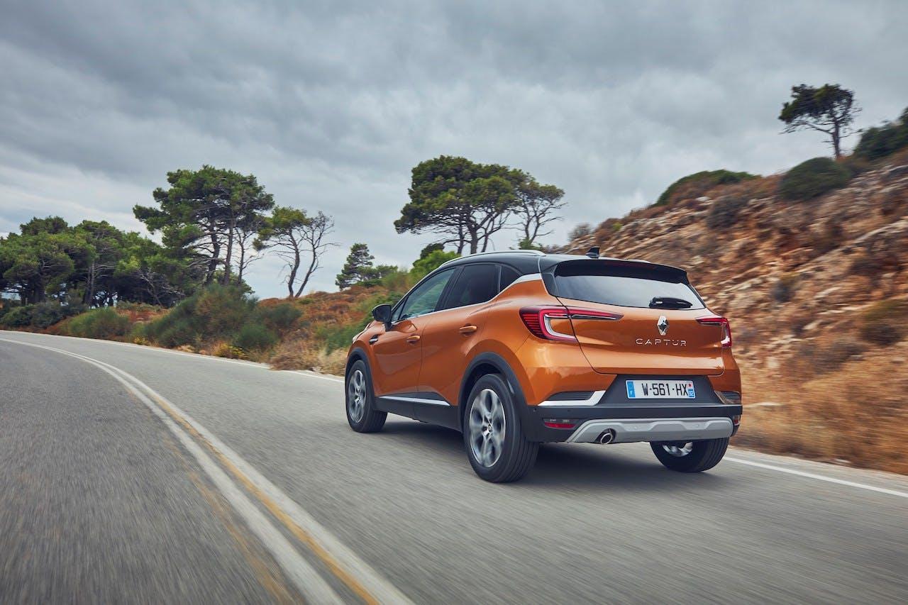 Nuova Renault Captur vista posteriore