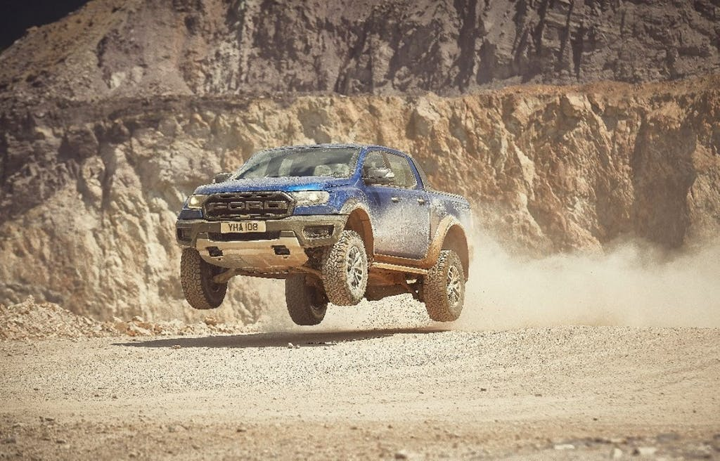 Ford Ranger Raptor, capace di tutto