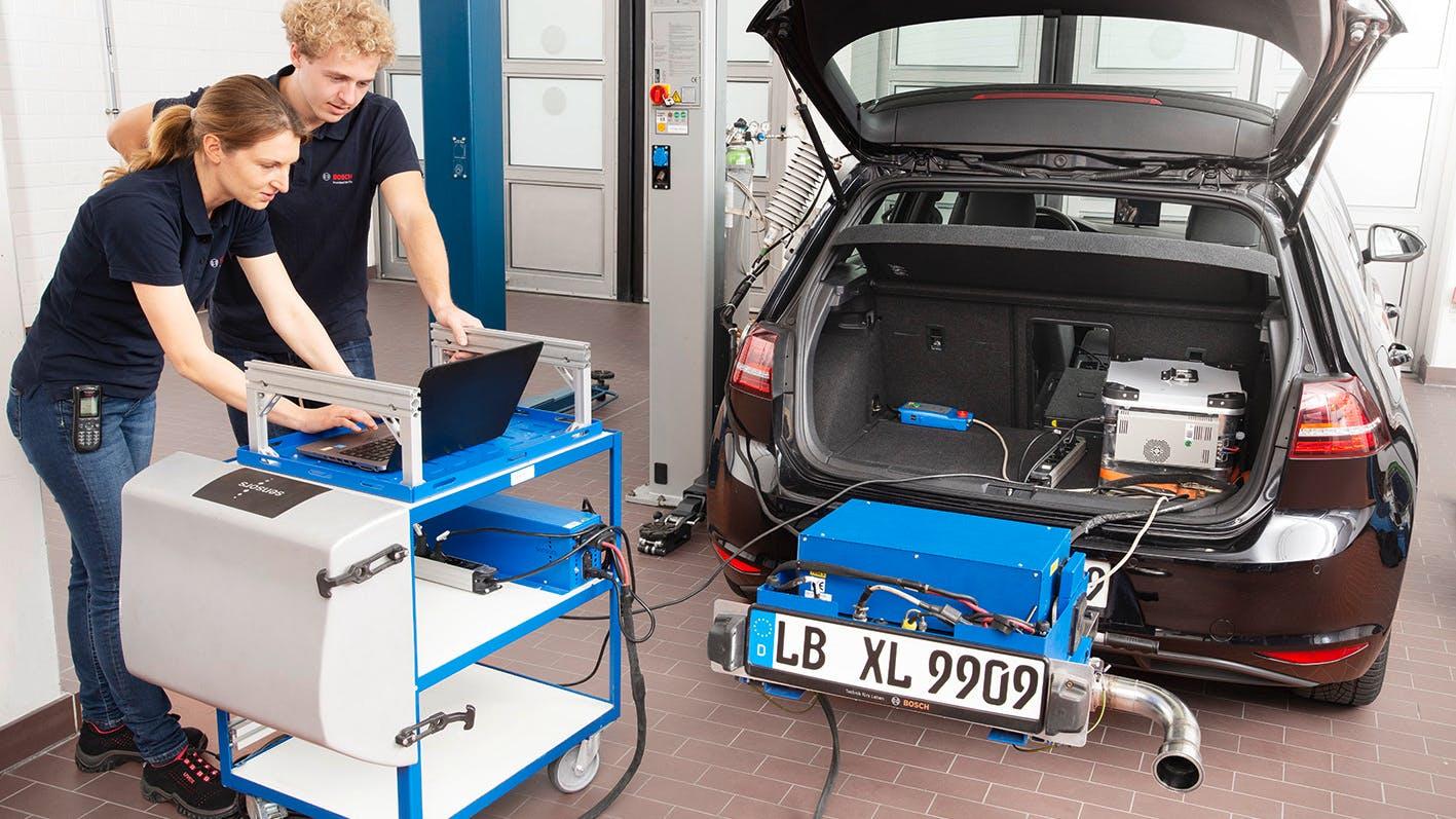 Bosch rilevamento emissioni