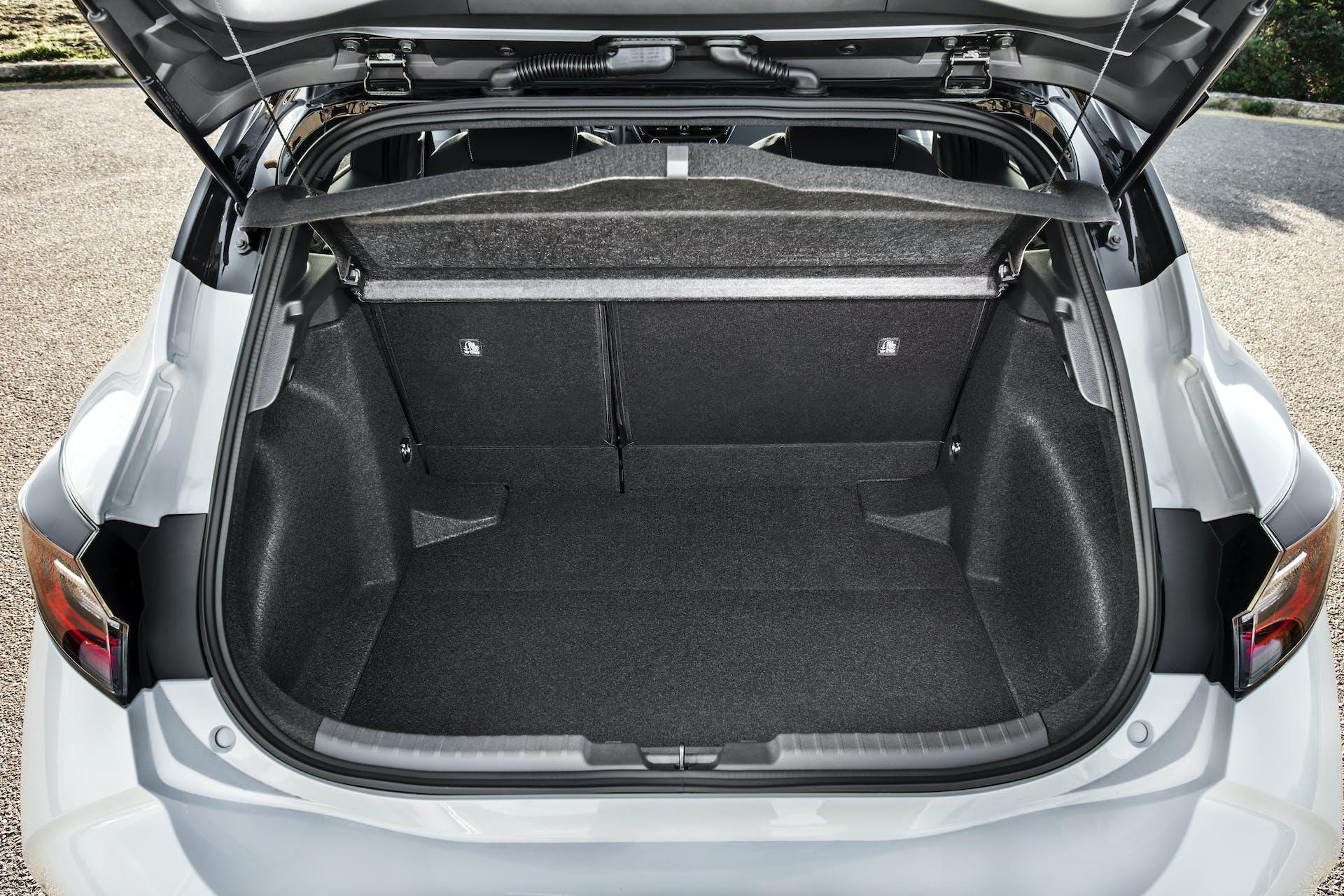 Toyota Corolla bagagliaio