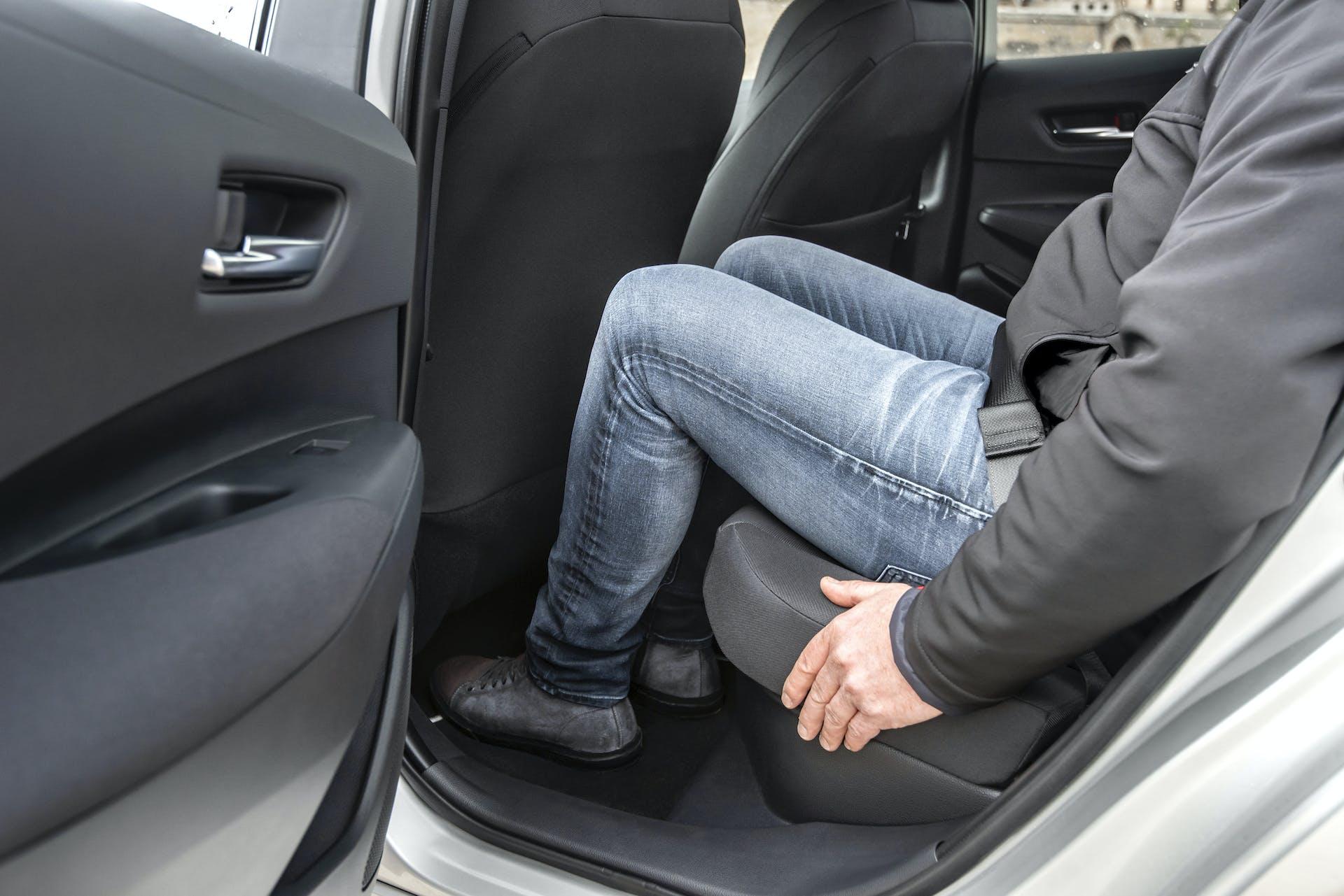 Toyota Corolla sedili posteriori