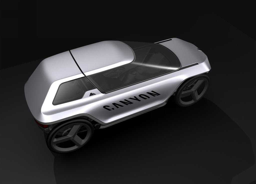 Canyon Future Mobility Concept, auto o bici?