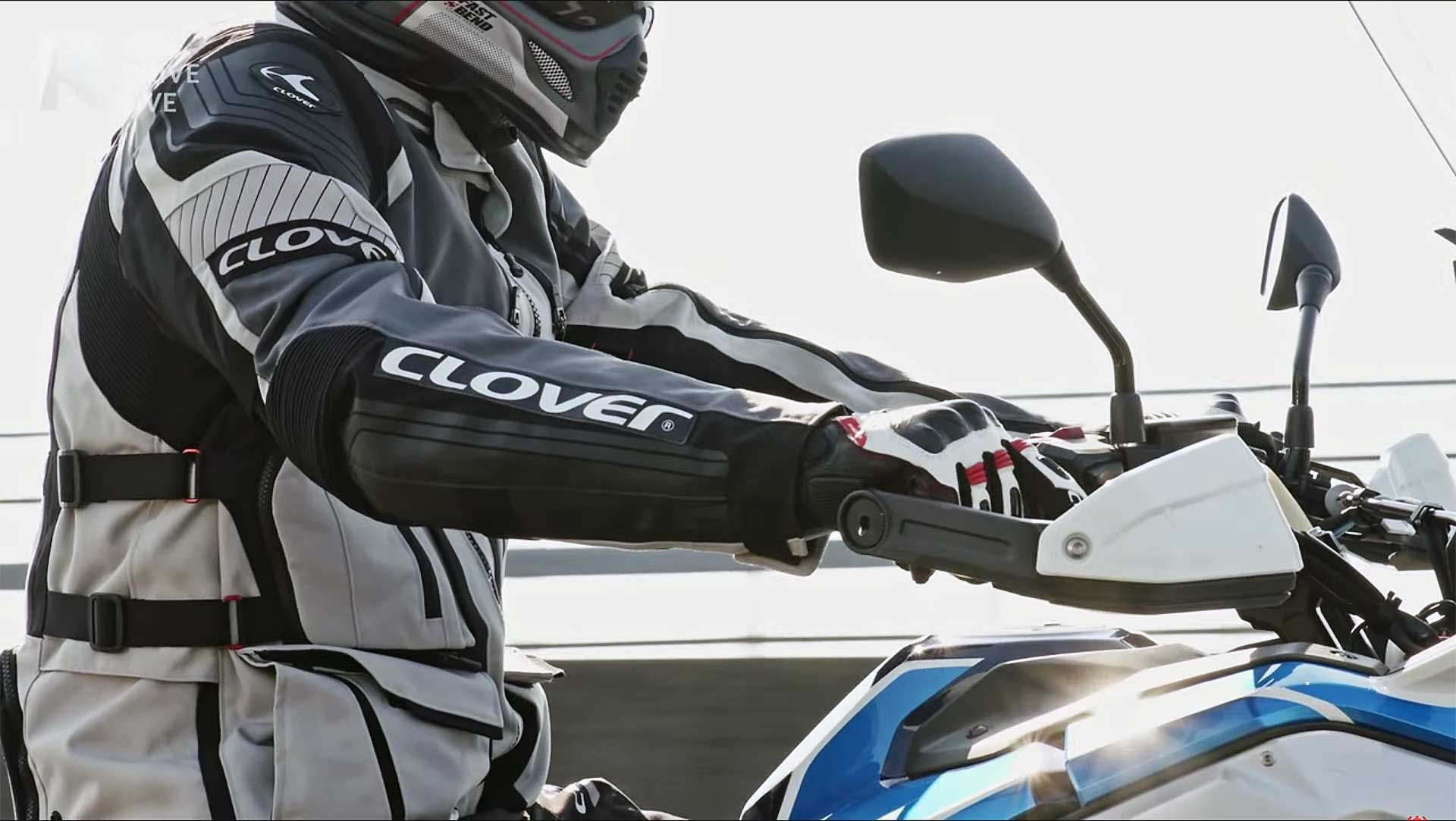 Giacca Moto Clover Crossover 4 WP Airbag