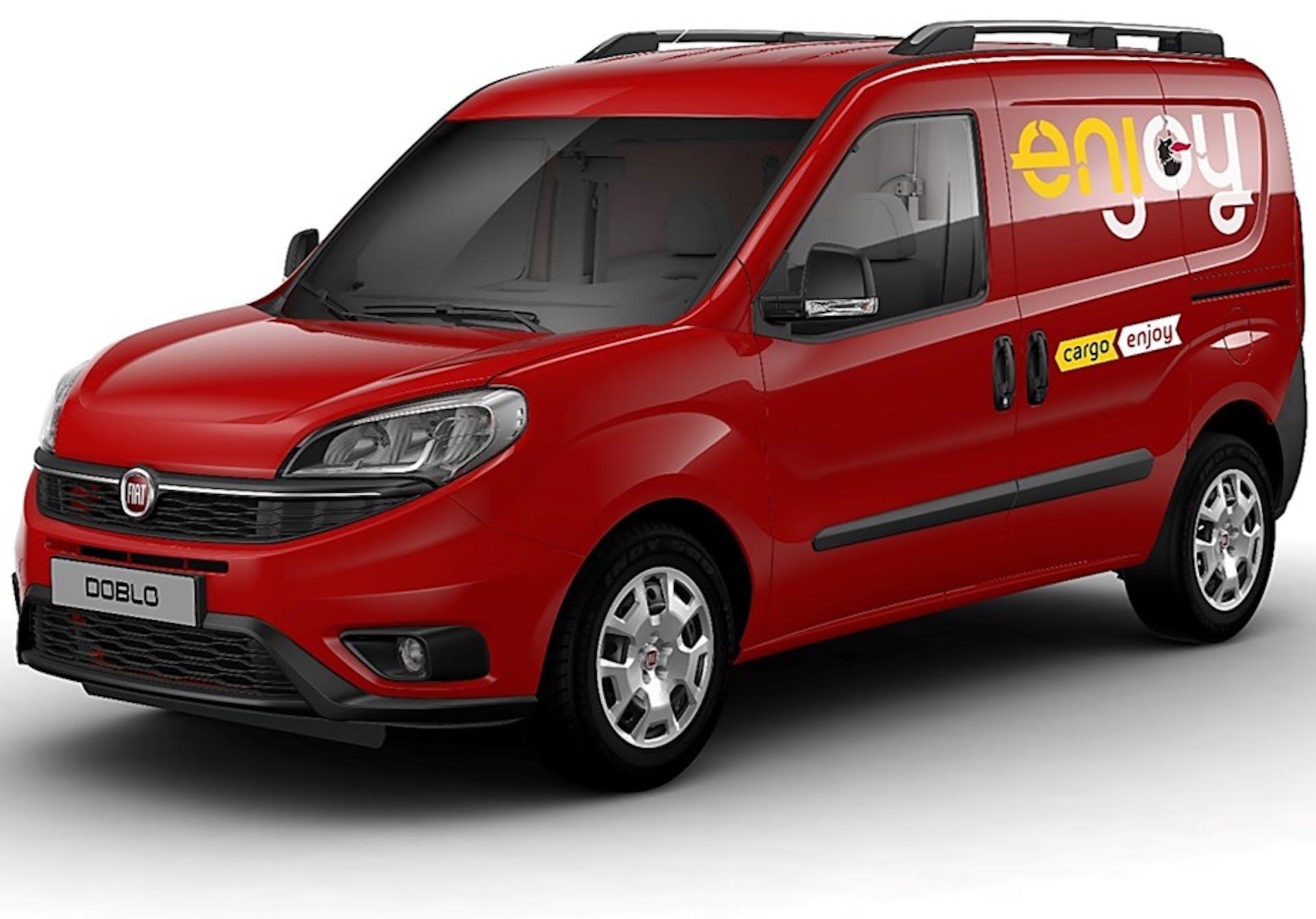 Enjoy Cargo il nuovo servizio di vehicle sharing