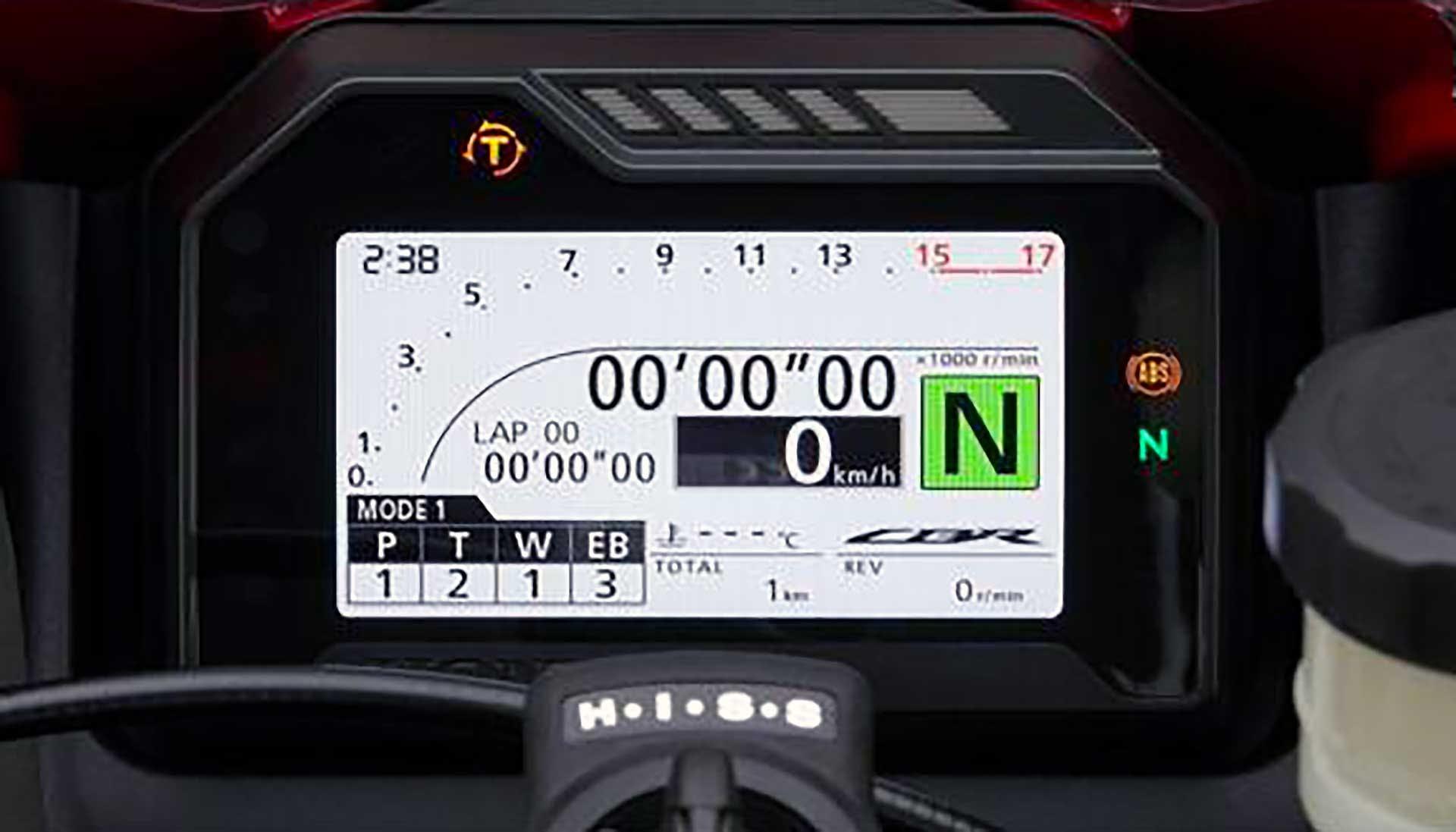 Honda CBR600 2021 Cruscotto Cockpit
