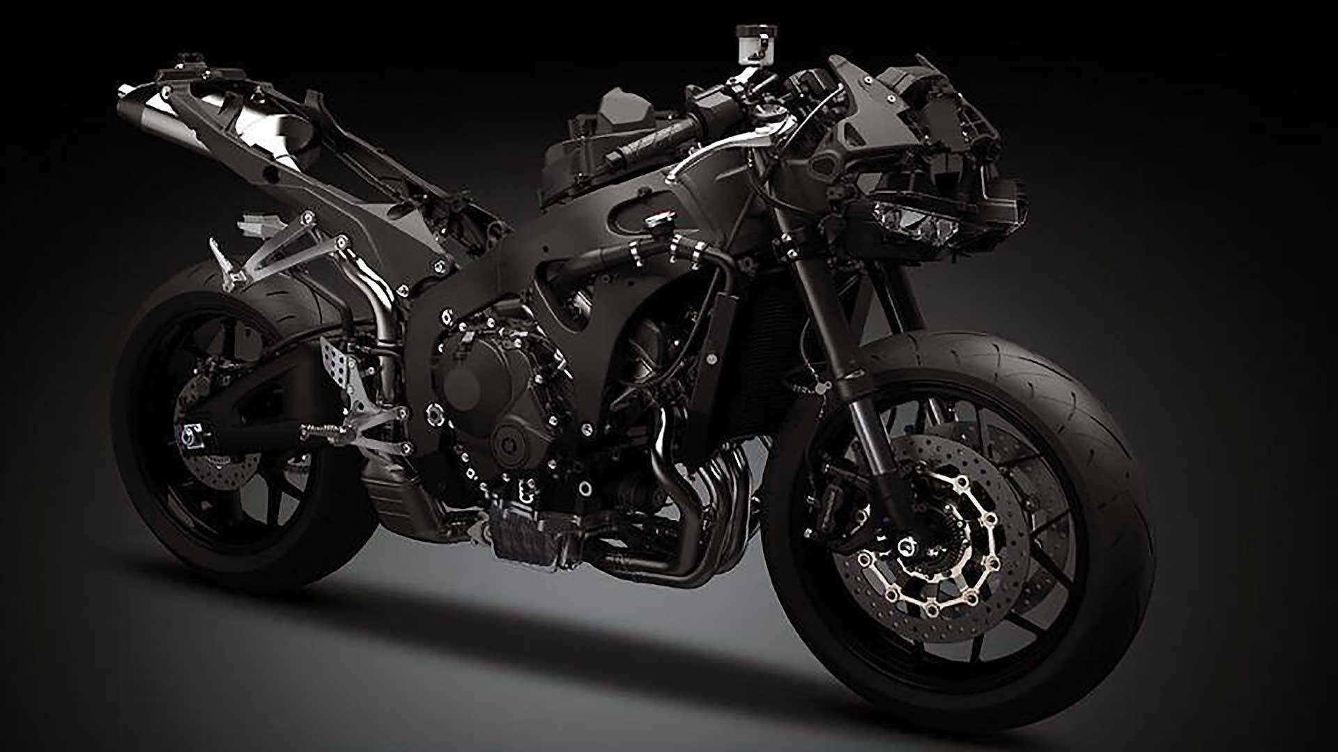 Honda CBR600RR 2021 moto spogliata