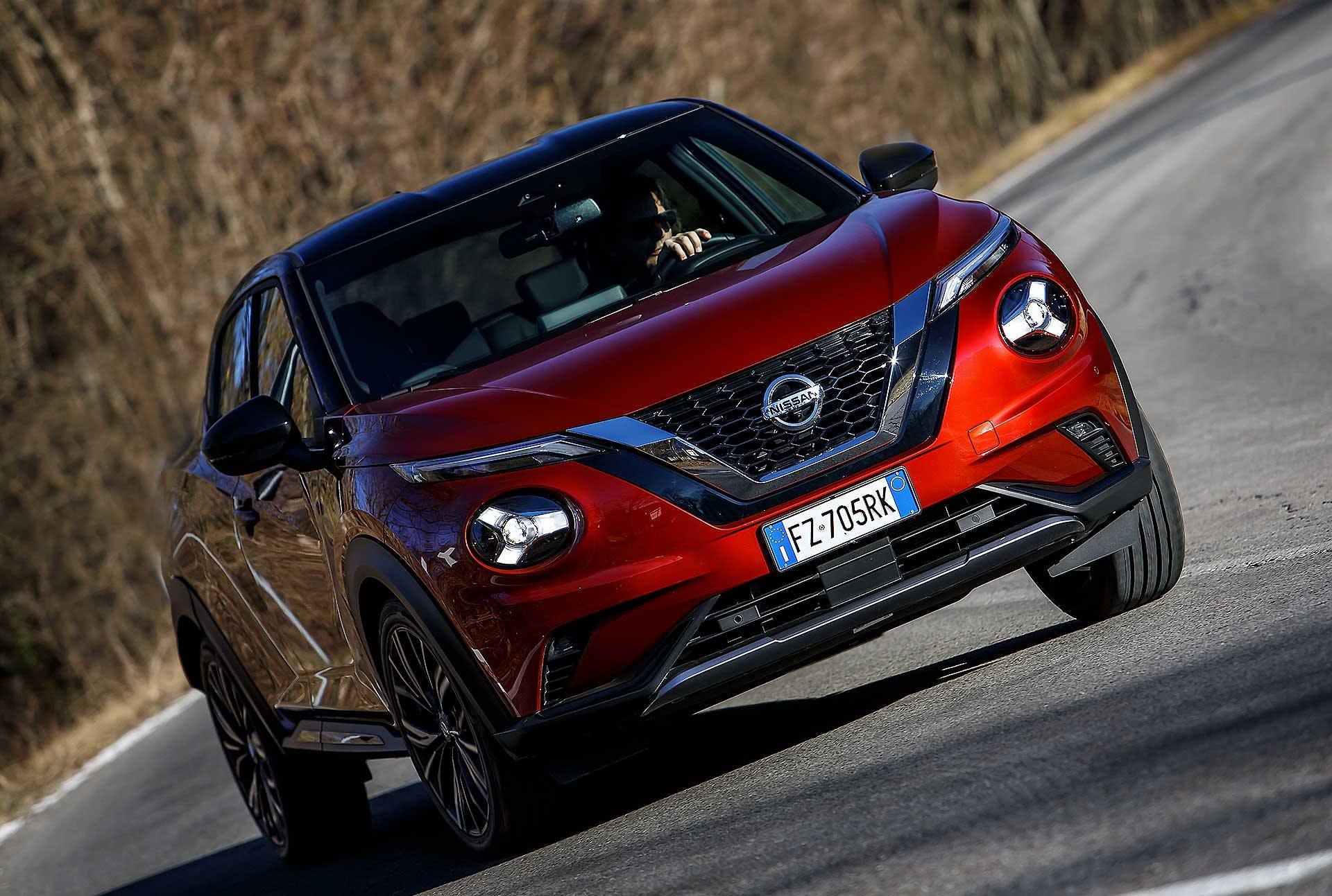 Nissan Juke 2020 movimento