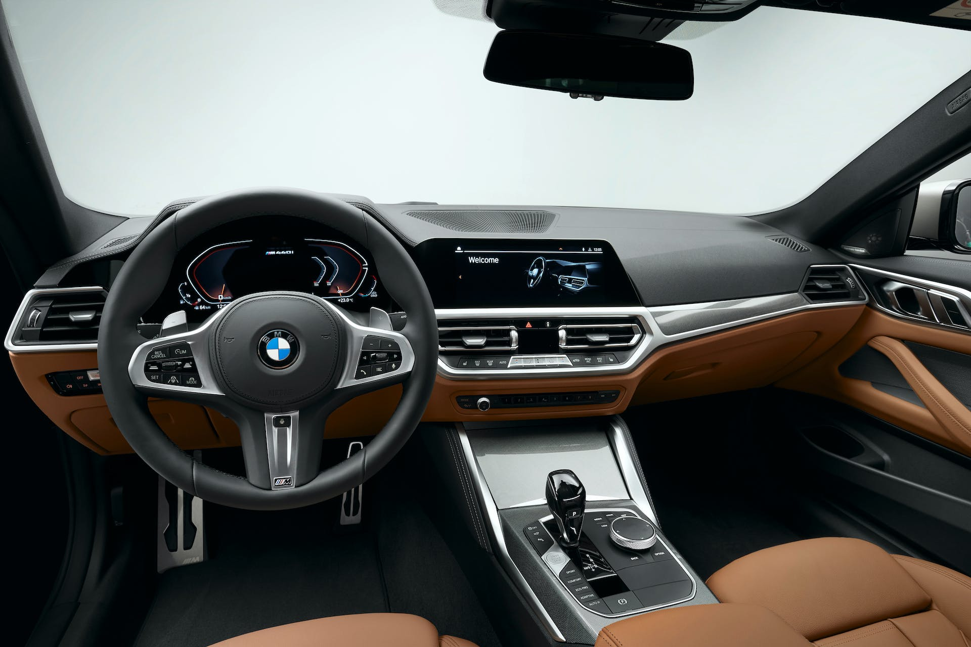 BMW Serie 4 Coupé plancia