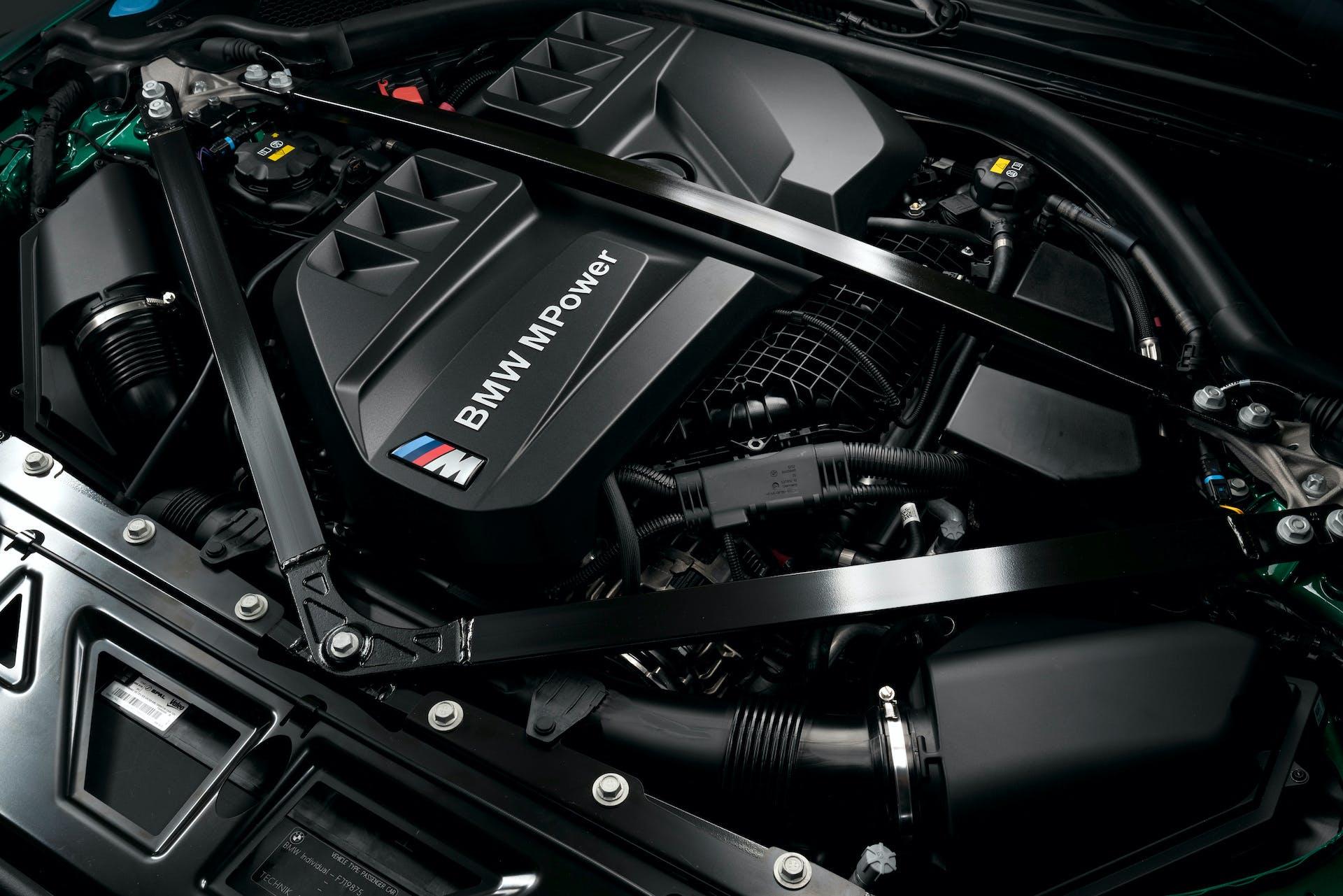 nuova BMW M3 motore