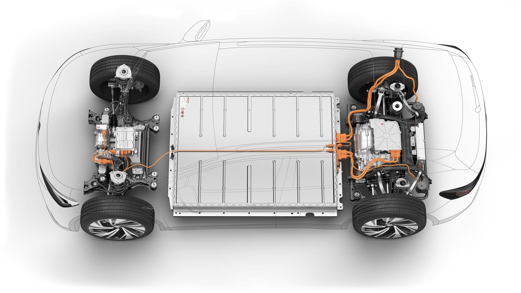 Volkswagen ID.4 pacco batterie