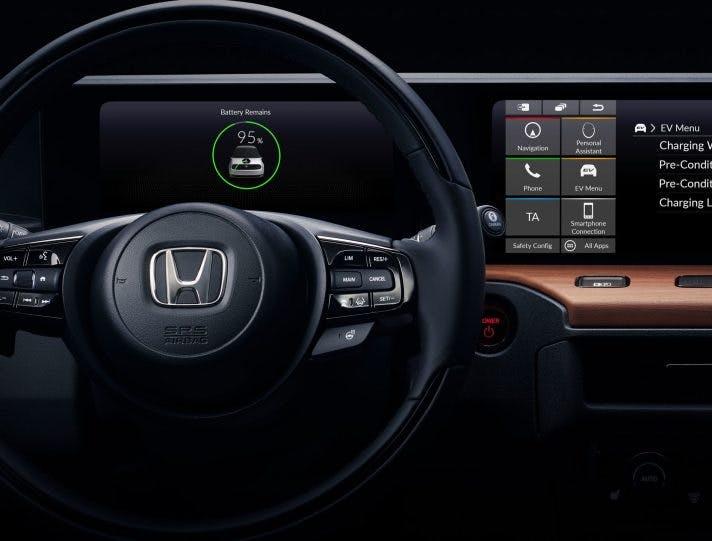 Honda EV strumentazione