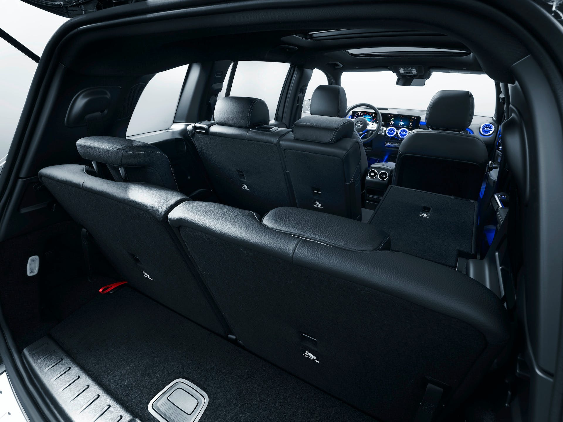 Mercedes-Benz GLB, tre file di sedili