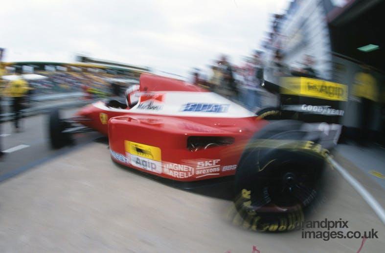 Ferrari Jean Alesi