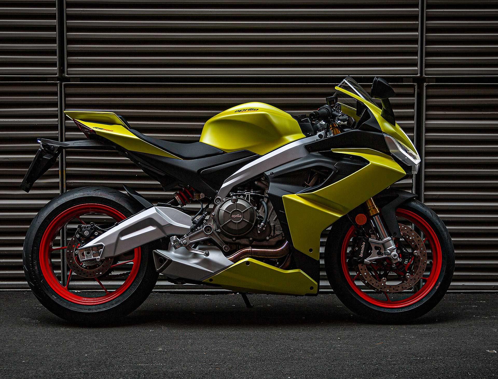 Aprilia RS660 migliori moto per neopatentati A2