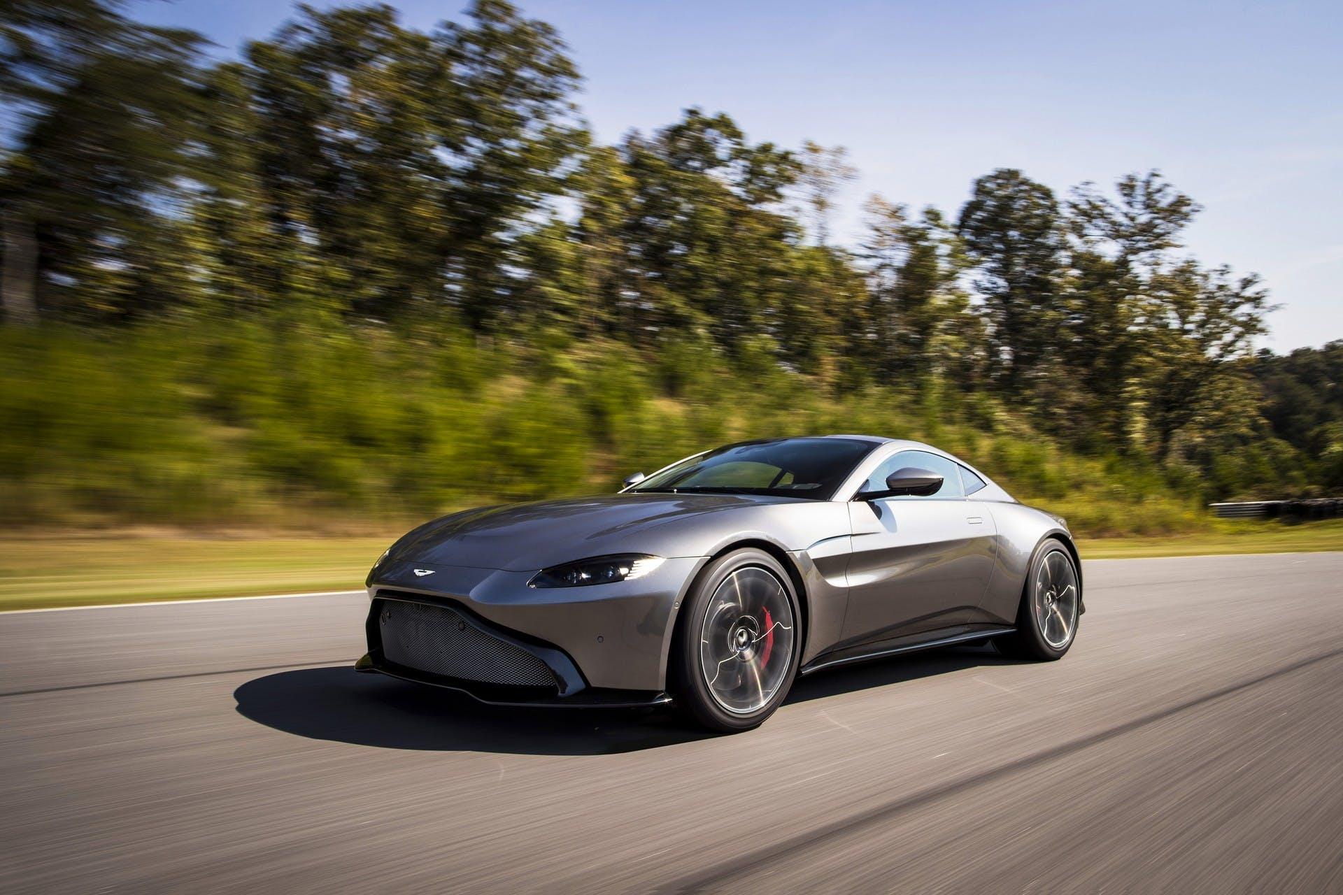 Aston Martin Vantage V8 MY18 dinamica