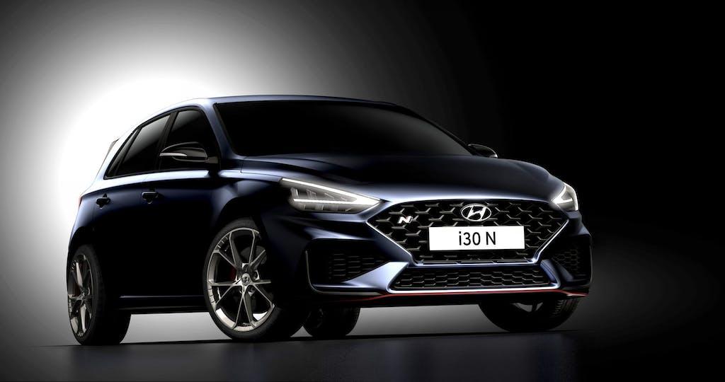 Hyundai i30 N, il restyling della sportiva