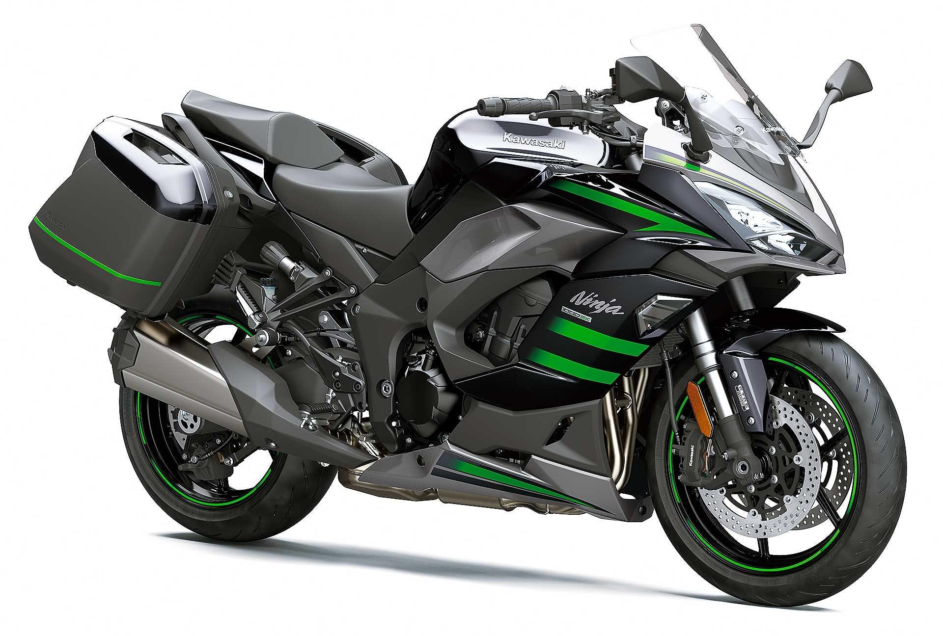 Kawasaki Ninja 1000 SX migliori moto da viaggio