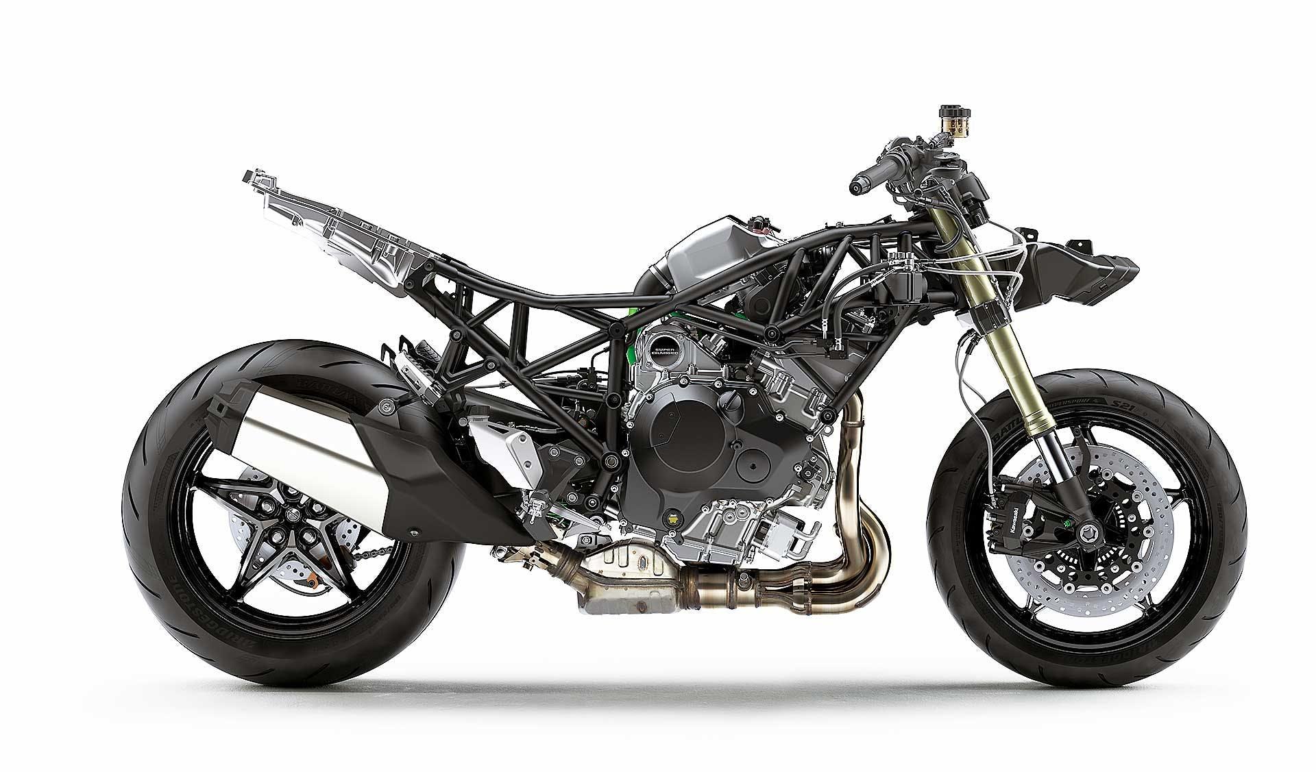 Kawasaki Ninja H2 SX - naked