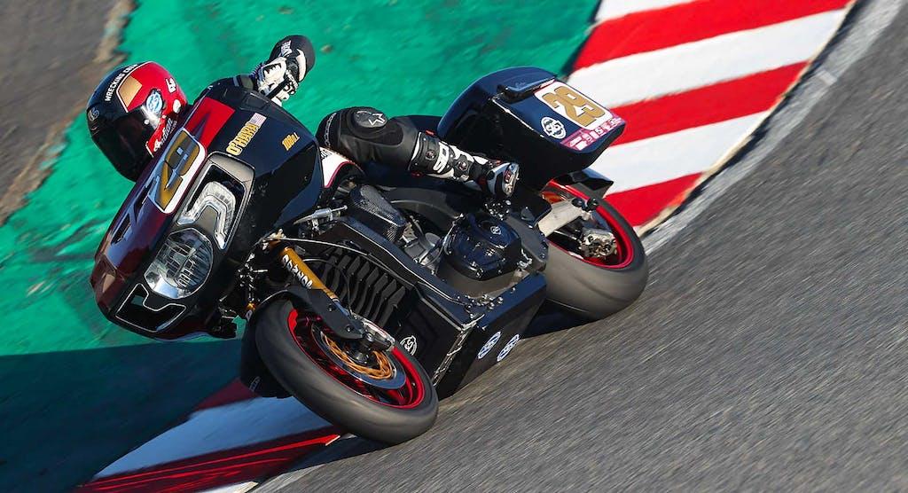 Moto America King of the Baggers, in gara con le borse