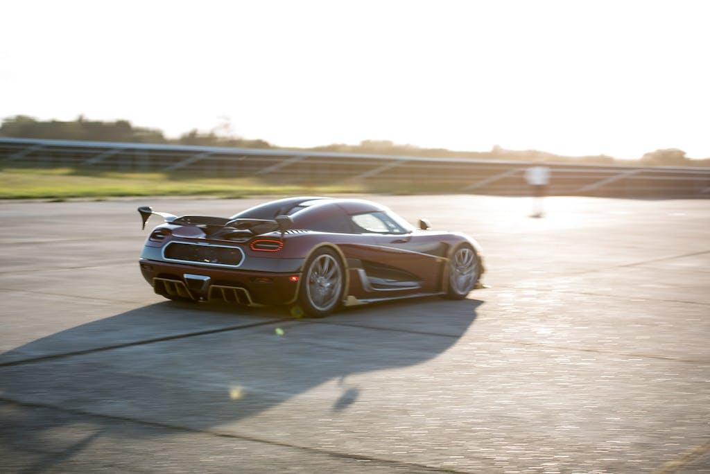 Koenigsegg Agera RS è l'auto più veloce del mondo