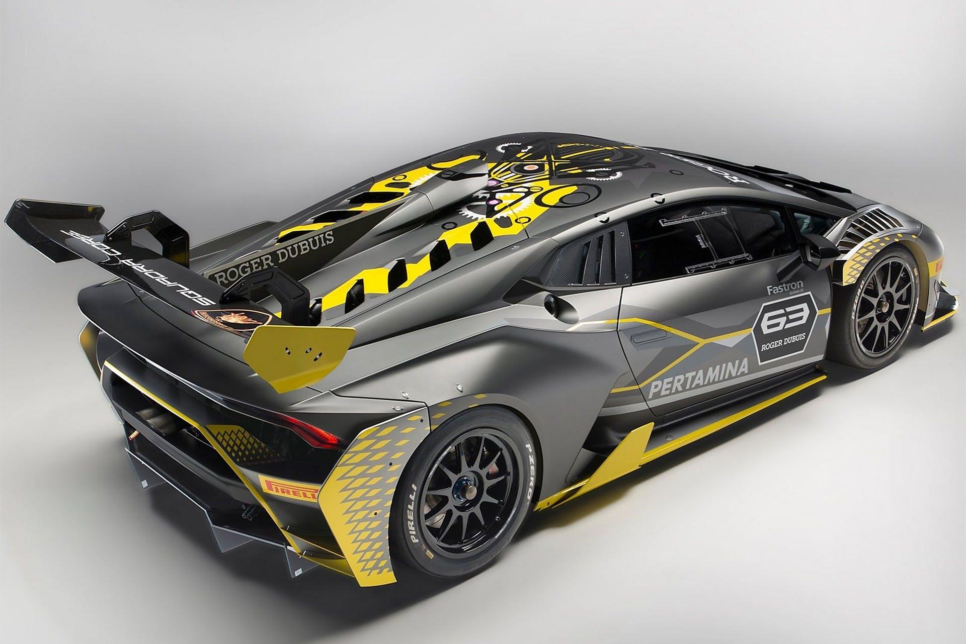 Lamborghini Huracán Super Trofeo Evo statica