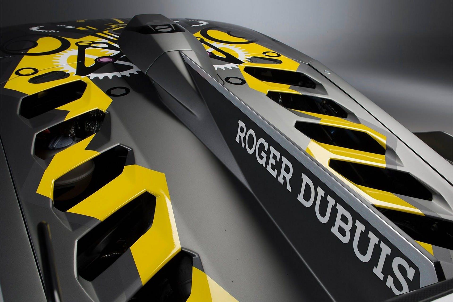 Lamborghini Huracán Super Trofeo Evo dettaglio
